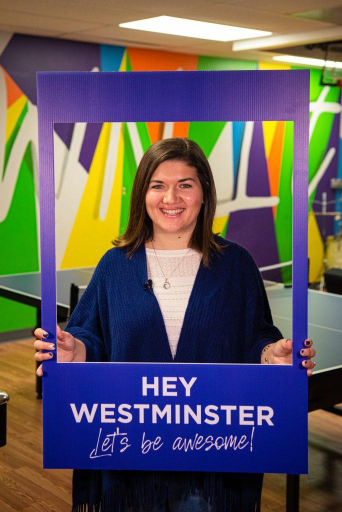 Hey Westminster Logo Design