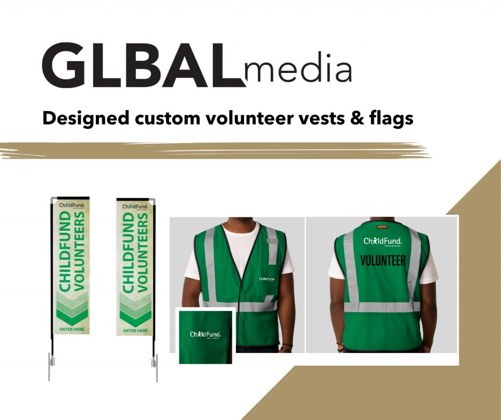 nonprofit campaign design Lauren Diagle ChildFund GLBAL media