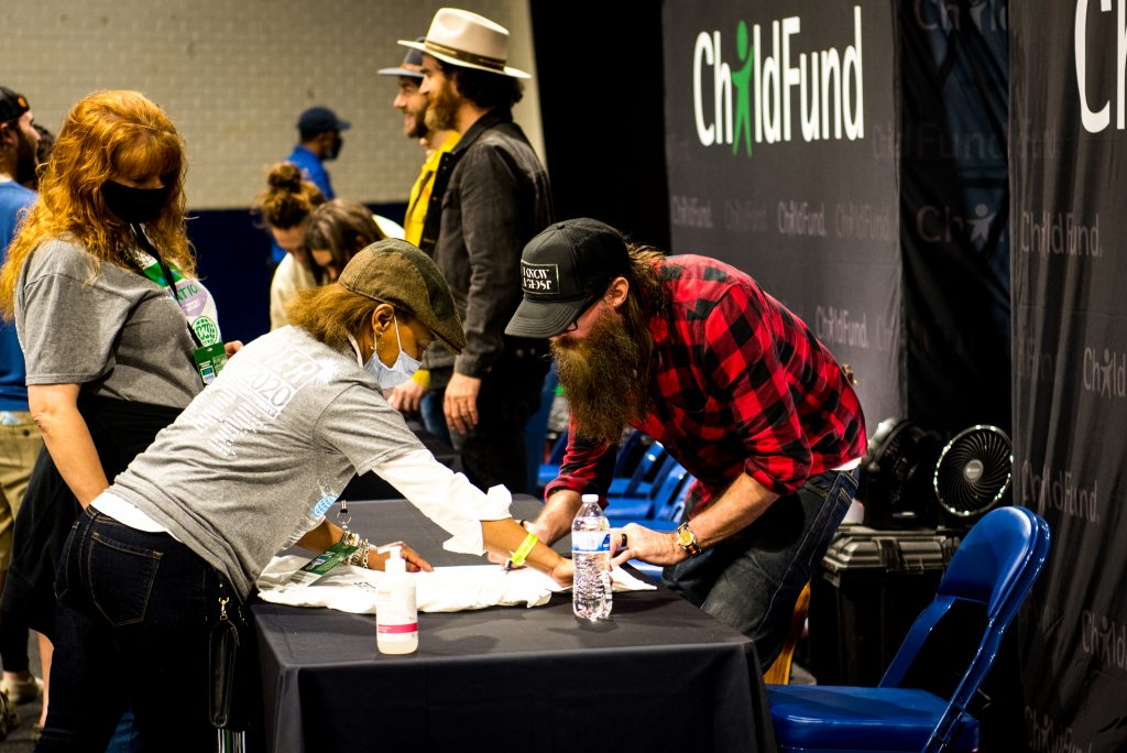 ChildFund meet and greet with Crowder and We The Kingdom
