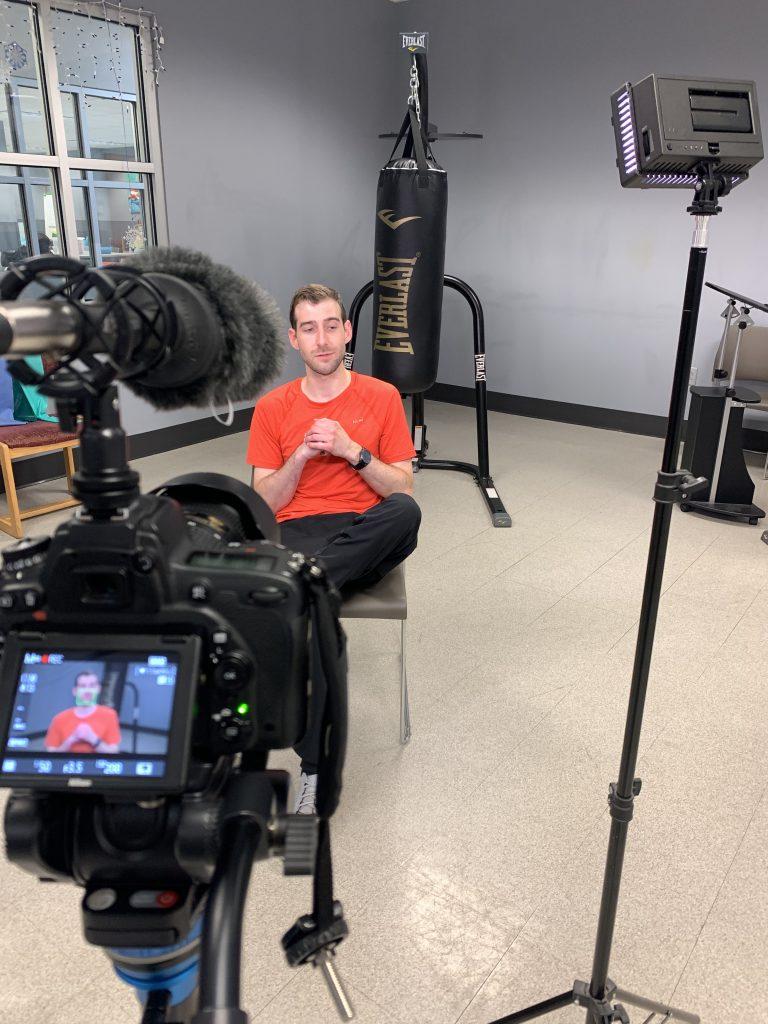 GLBAL media behind the scenes filming